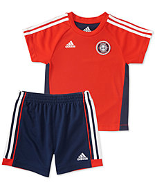 adidas Baby Boys 2-Pc. Hat Trick T-Shirt & Shorts Set