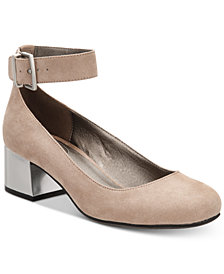 Kenneth Cole Reaction Women's Flip Around Block-Heel Pumps