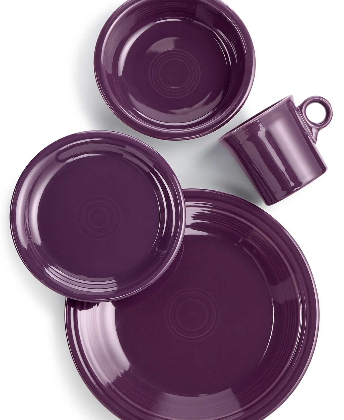 mulberry 4 pc place setting