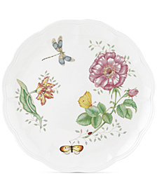 "Lenox ""Butterfly Meadow"" Dinner Plate"