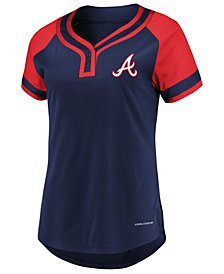 Majestic Women's Atlanta Braves League Diva T-Shirt