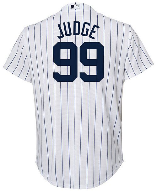 0a3a97fb253 ... Majestic Aaron Judge New York Yankees Player Replica Cool Base Jersey