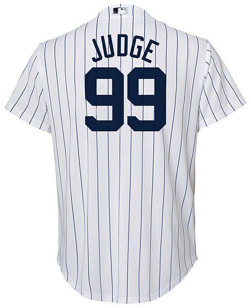 b05df6ea83c ... Majestic Aaron Judge New York Yankees Player Replica Cool Base Jersey
