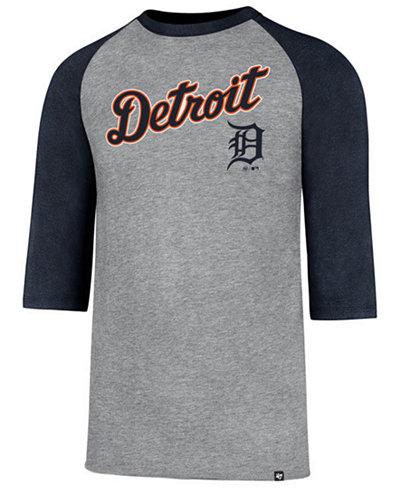 '47 Brand Men's Detroit Tigers Pregame Raglan T-shirt