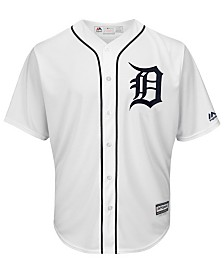 Majestic Men's Detroit Tigers Blank Replica Cool Base Jersey