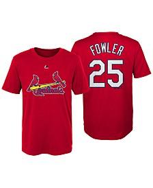 Majestic Dexter Fowler St. Louis Cardinals Official Player T-Shirt, Little Boys (4-7)