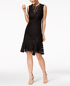 Nanette by Nanette Lepore Lace Dress, Created for Macy's