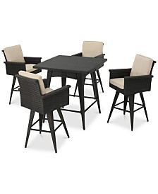 Franklin 5-Pc. Dining Set, Quick Ship