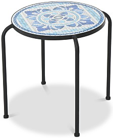 Royce Round Side Table, Quick Ship