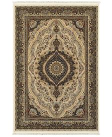 "Oriental Weavers Masterpiece Cav Ivory 3'10"" x 5'5"" Area Rug"