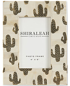 "Shiraleah Cactus 4"" x 6"" Picture Frame"