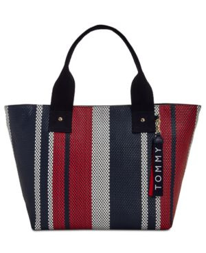 CLASSIC TOMMY WOVEN TOTE
