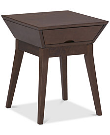 Charun End Side Table, Quick Ship
