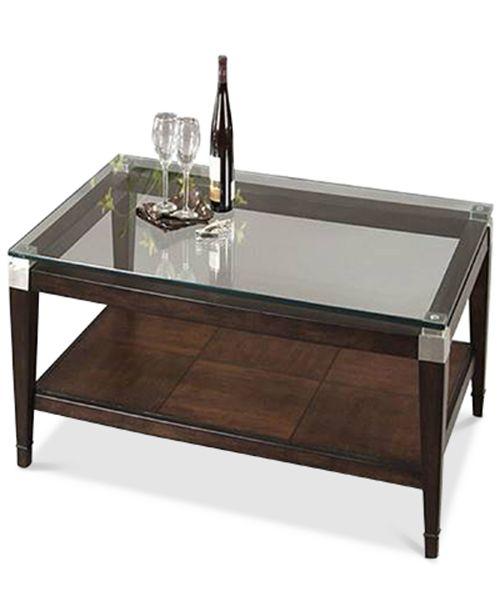 Furniture Silverado Rectangular Coffee Table Furniture Macys - Silverado rectangular coffee table