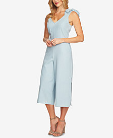 CeCe Cotton Denim Jumpsuit