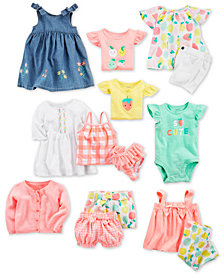 Carter's Baby Girls Cotton Separates