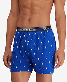 Polo Ralph Lauren Men's 4-Pk. Classic-Fit Knit Cotton Boxers