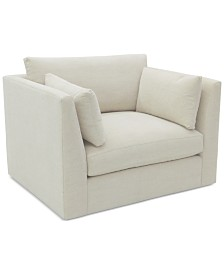 Kala 47'' Fabric Chair and a Half