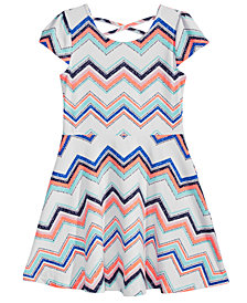 Epic Threads Toddler Girls Printed Skater Super-Soft Dress, Created for Macy's