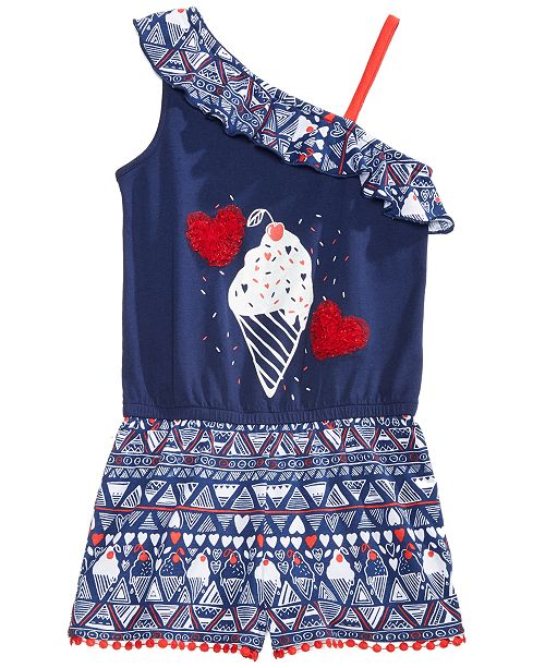 31af39ecf32 Epic Threads Little Girls Ice Cream Cone Romper