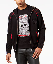 Just Cavalli Men's Full-Zip Hoodie