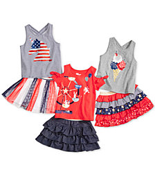 Epic Threads Toddler Girls Stars & Stripes Mix & Match Separates, Created for Macy's