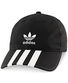adidas Men's Originals Relaxed Three-Stripe Six-Panel Cap
