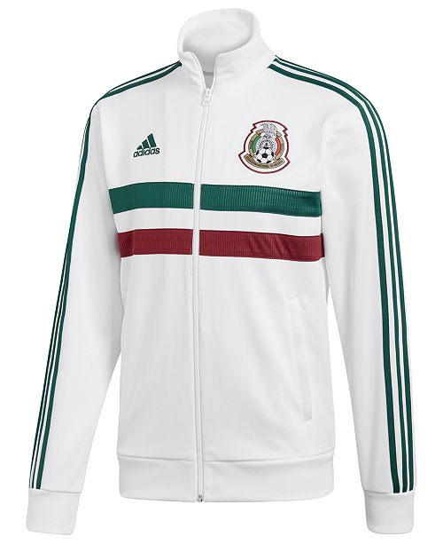 ee869a4a189 adidas Men s Mexico Soccer Track Jacket   Reviews - Coats ...