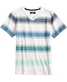Univibe Big Boys Striped T-Shirt