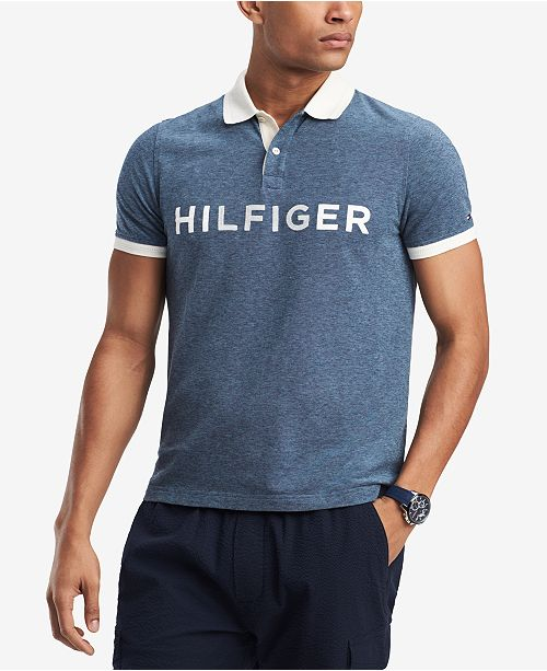9566a779272 Tommy Hilfiger Men s Big and Tall Kieran Logo Classic Fit Polo ...