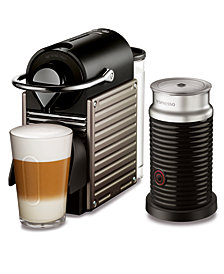 Nespresso by Breville Pixie Titan Espresso Machine with Aeroccino3