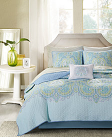 Madison Park Essentials Celeste 8-Pc. California King Coverlet Set