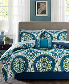 Madison Park Essentials Serenity 7-Pc. Twin Comforter Set