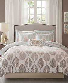 Madison Park Essentials Central Park 7-Pc. Twin Comforter Set