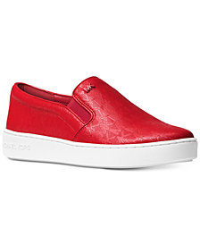MICHAEL Michael Kors Keaton Slip-On Logo Sneakers