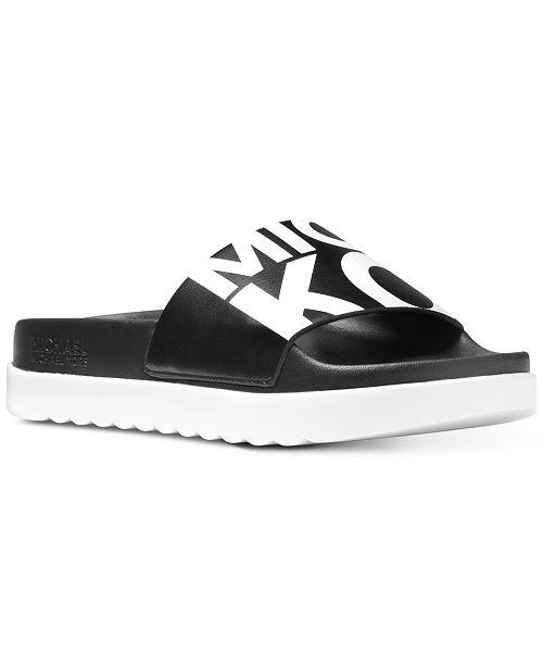 Tyra Logo Slide Sandals cg5CB