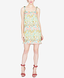 RACHEL Rachel Roy Embroidered Floral Mini Dress