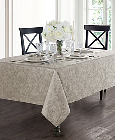 Waterford Camille Taupe Tablecloth