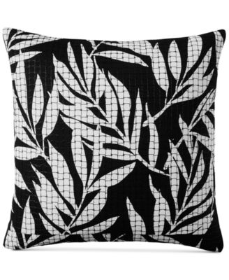 """Palm 110-Thread Count 20"""" x 20"""" Decorative Pillow, Created for Macy's"""