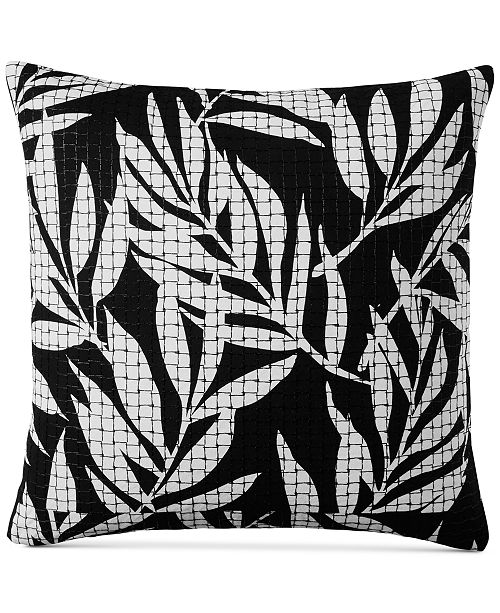 """Charter Club CLOSEOUT! Palm 110-Thread Count 20"""" x 20"""" Decorative Pillow, Created for Macy's"""