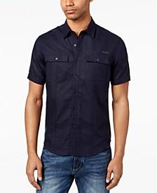 Men's Dual Pocket Linen Shirt, Created for Macy's