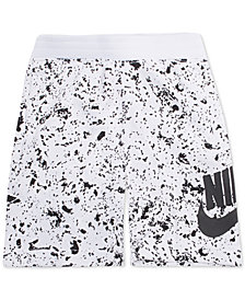 Nike Toddler Boys Sportswear Seasonal Alumni Printed Cotton Shorts