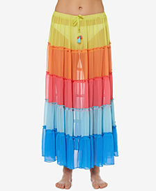 Bleu by Rod Beattie Long Skirt Cover-Up