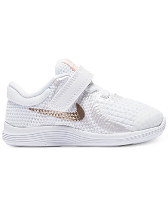Toddler Girls' Revolution 4 Athletic Sneakers From Finish Line by Nike
