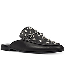 Nine West Welynne Studded Mules