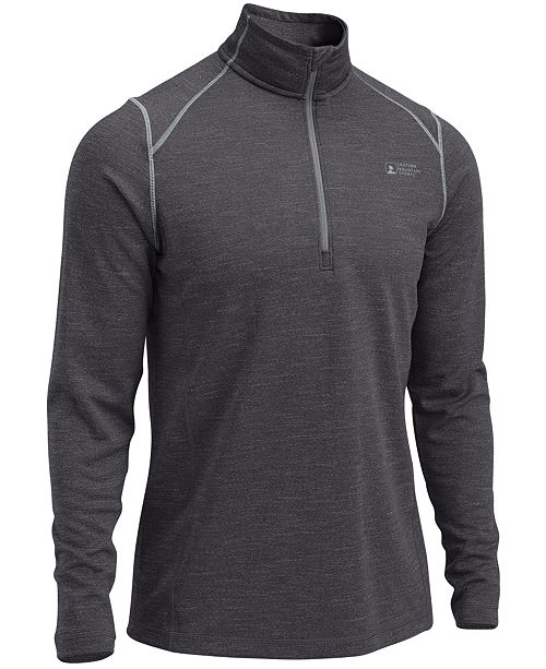 Eastern Mountain Sports EMS® Men's Techwick® Dual Thermo Quarter-Zip Pullover