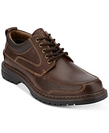 Men's Overton Moc-Toe Leather Oxfords