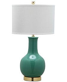"""Safavieh Emerald 27.5"""" Ceramic Paris Table Lamp"""