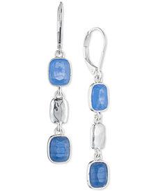 Nine West Multi-Stone Triple Drop Earrings