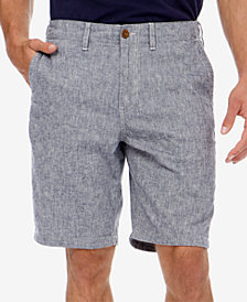 Lucky Brand Men's Chambray Linen Shorts